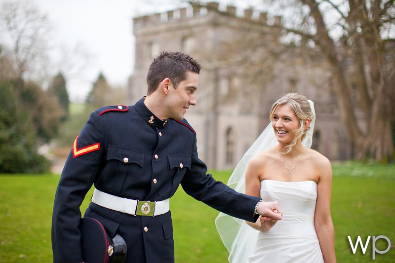 Military Wedding Clearwell Castle, Michelle & Paul
