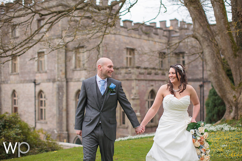 Winter Wedding Clearwell Castle – Sherie and Mark