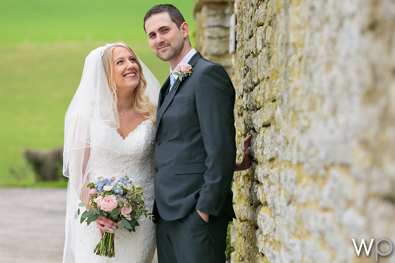 Samantha and Stephen at Priston Mill (Tythe Barn)
