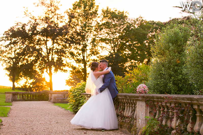 Charlotte and Daniel at Coombe Lodge